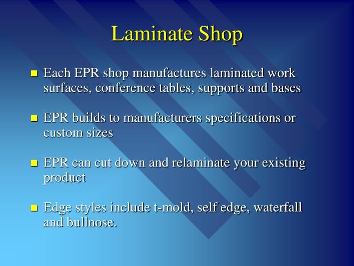 Laminate Shop