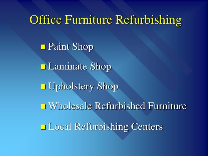 Office Furniture Refurbishing