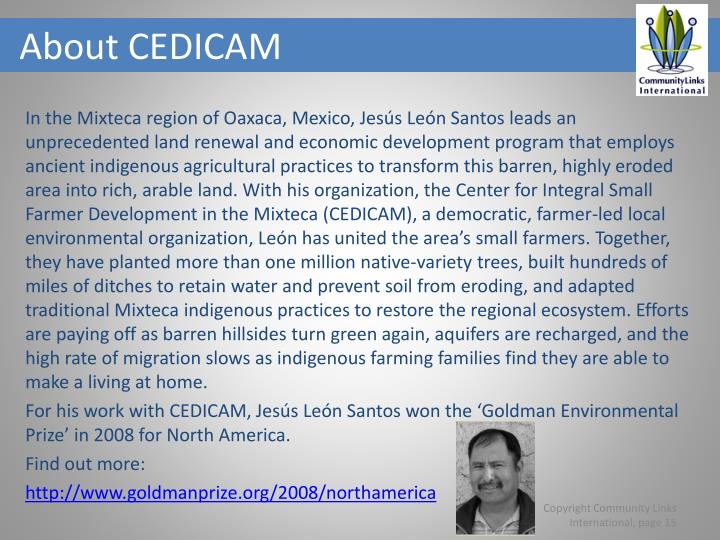 About CEDICAM