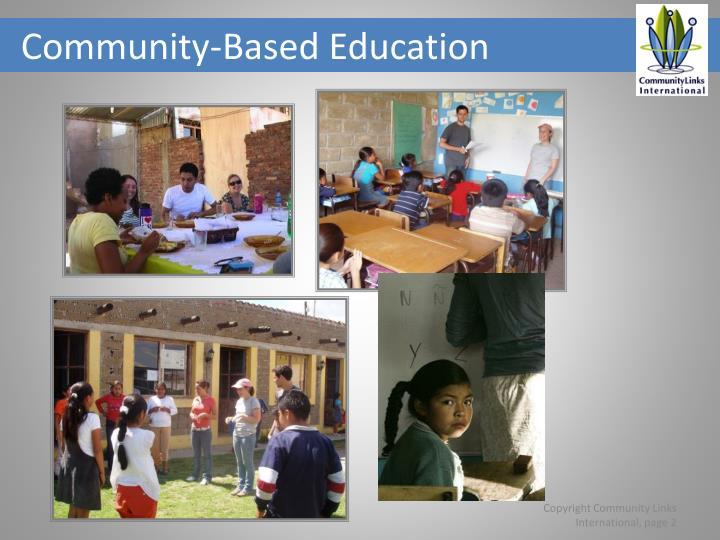 Community-Based Education