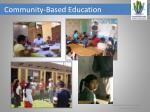 community based education