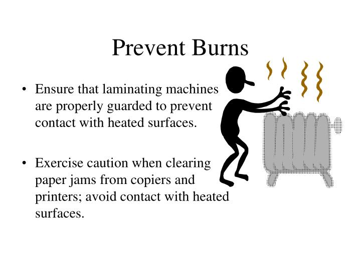 Prevent Burns