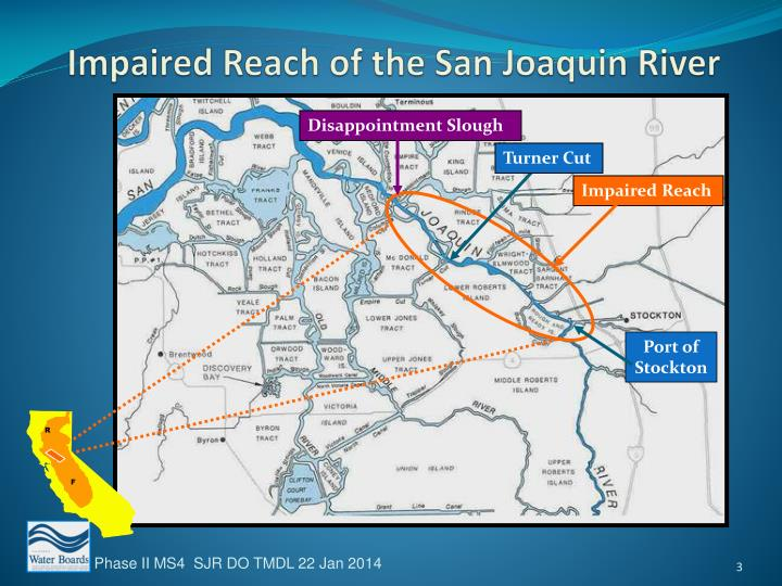 Impaired Reach of the San Joaquin River