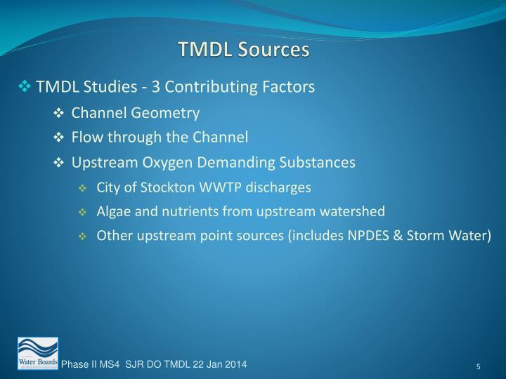 TMDL Sources