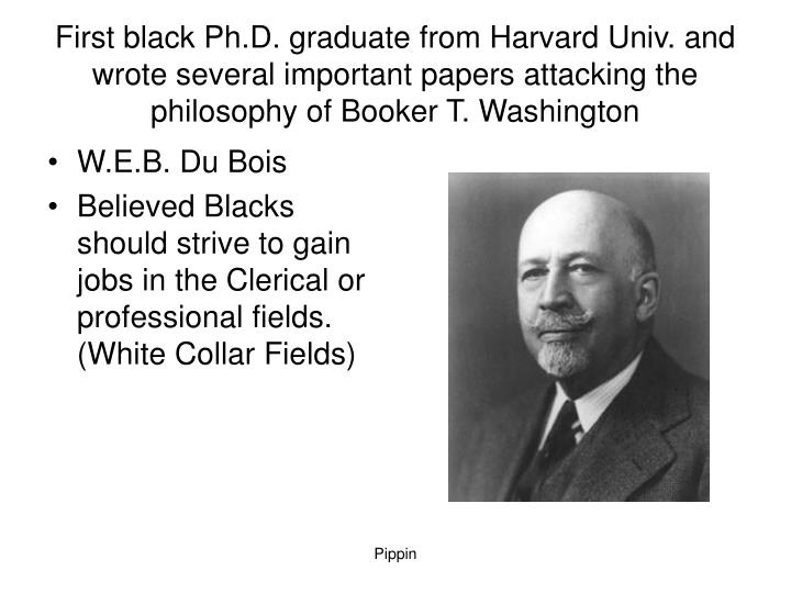 w e b du bois philosophical significance and Web du bois' classic 1903 work, the souls of black folk, explores the   christianity, du bois writes that african courtesy became slave humility, and  moral  that du bois describes in the spirituals, reflect a secondary, but highly  significant,.