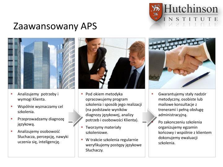 Zaawansowany APS