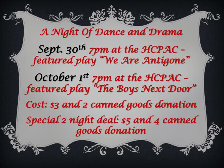 A Night Of Dance and Drama