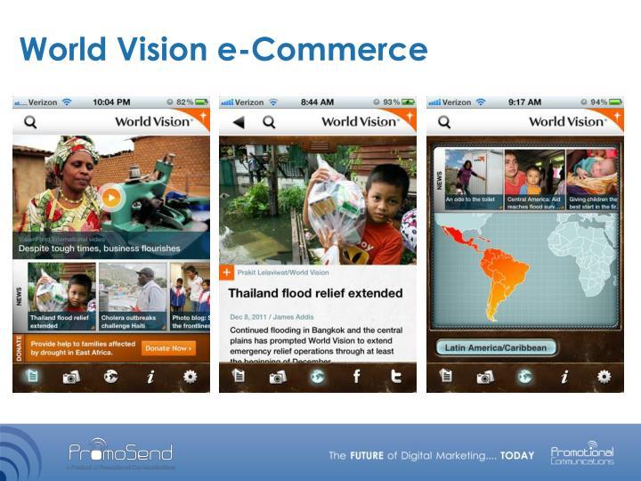 World Vision e-Commerce