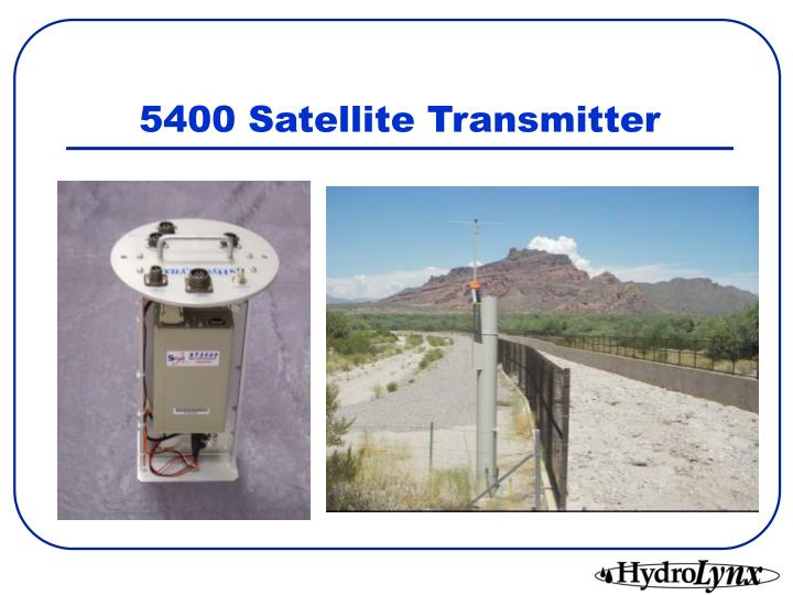 5400 Satellite Transmitter