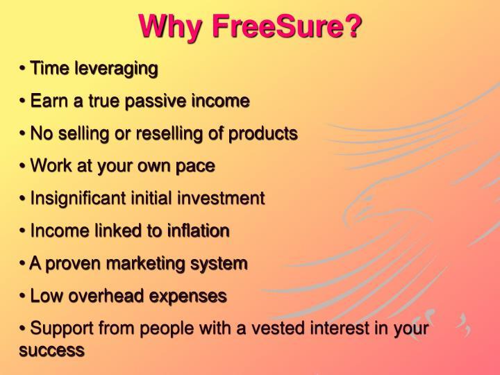 Why FreeSure?