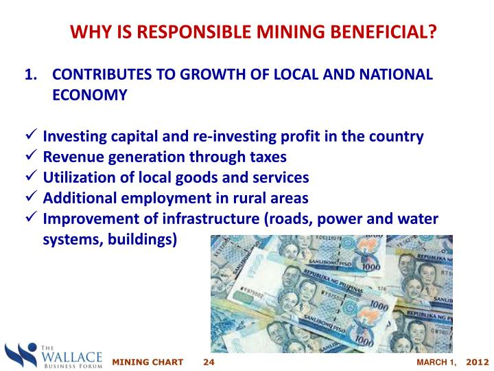 WHY IS RESPONSIBLE MINING BENEFICIAL?