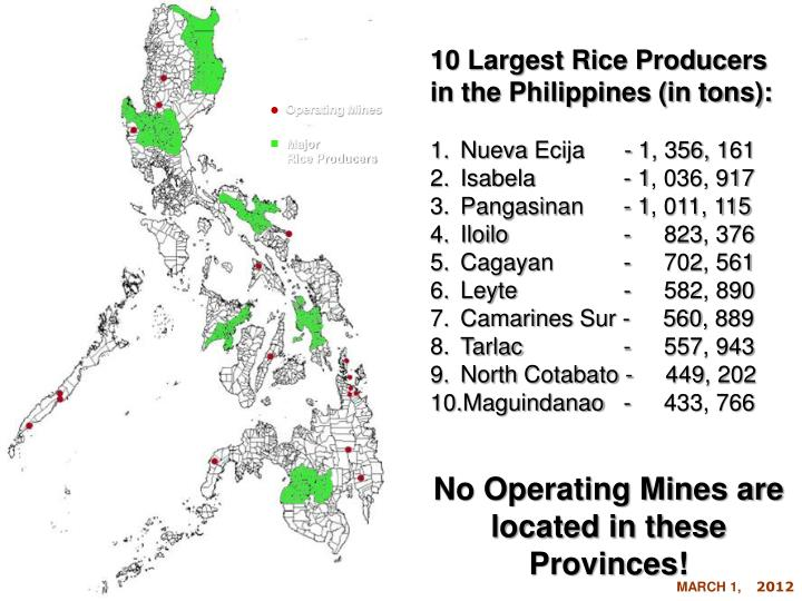 10 Largest Rice Producers