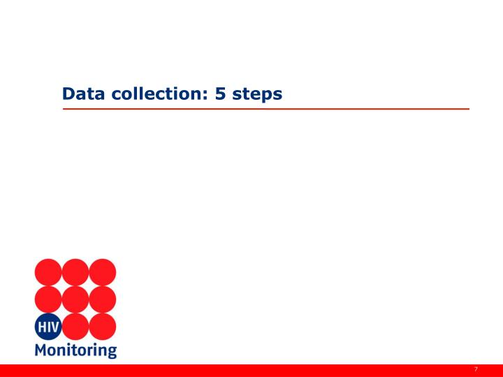 Data collection: 5 steps