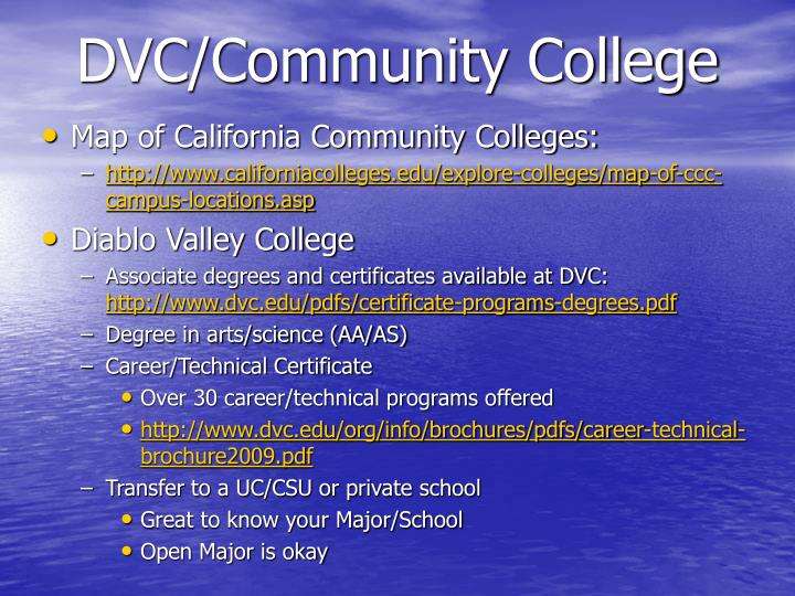 DVC/Community College