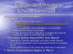 independent private schools continued1