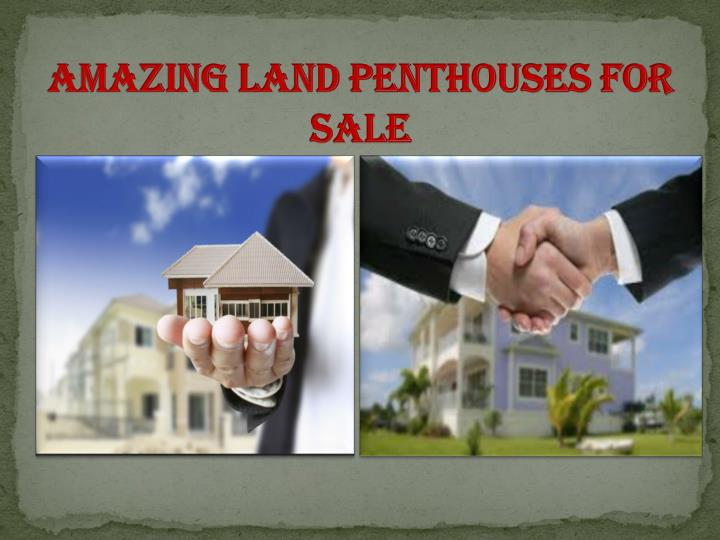 Amazing Land Penthouses