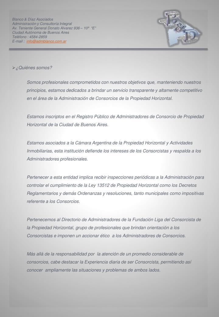 Blanco & Díaz Asociados