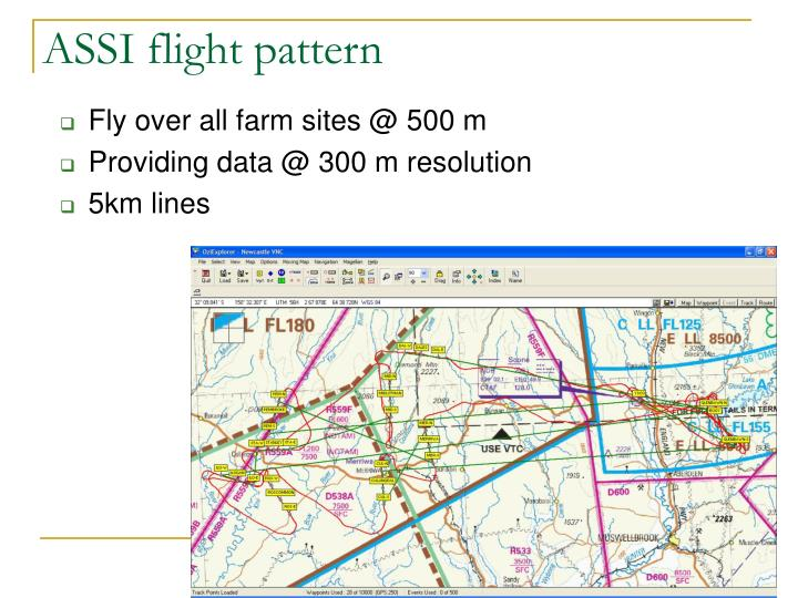 ASSI flight pattern