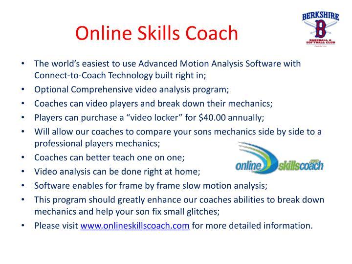Online Skills Coach