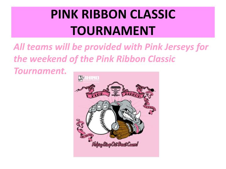 PINK RIBBON CLASSIC TOURNAMENT