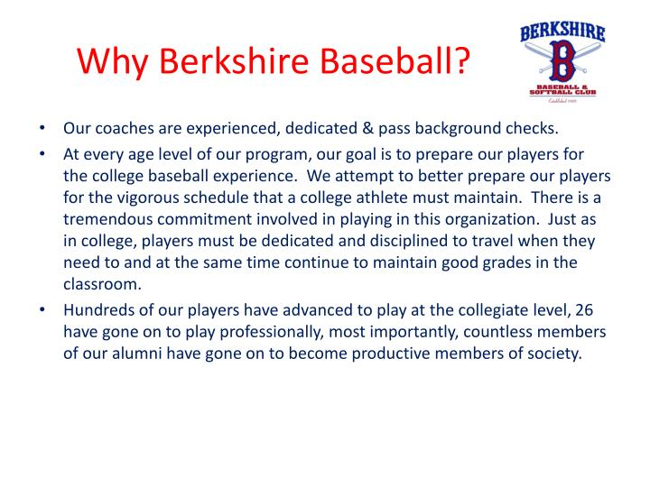 Why berkshire baseball1