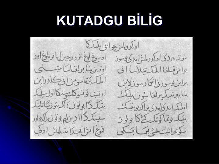 KUTADGU BLG