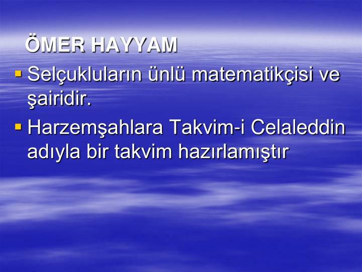 MER HAYYAM
