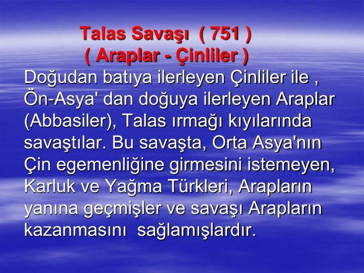 Talas Sava ( 751 )