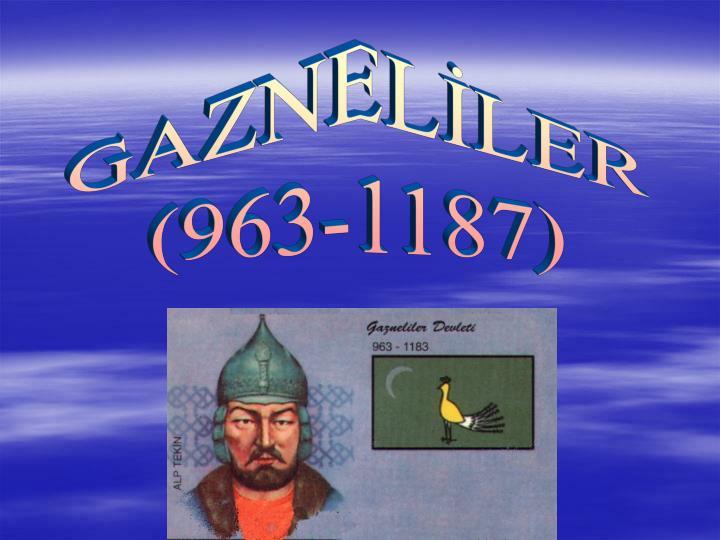 GAZNELLER