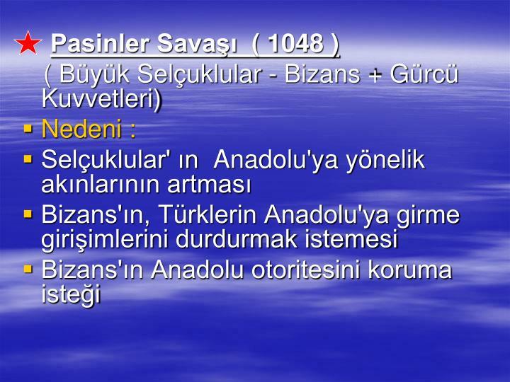 Pasinler Sava ( 1048 )