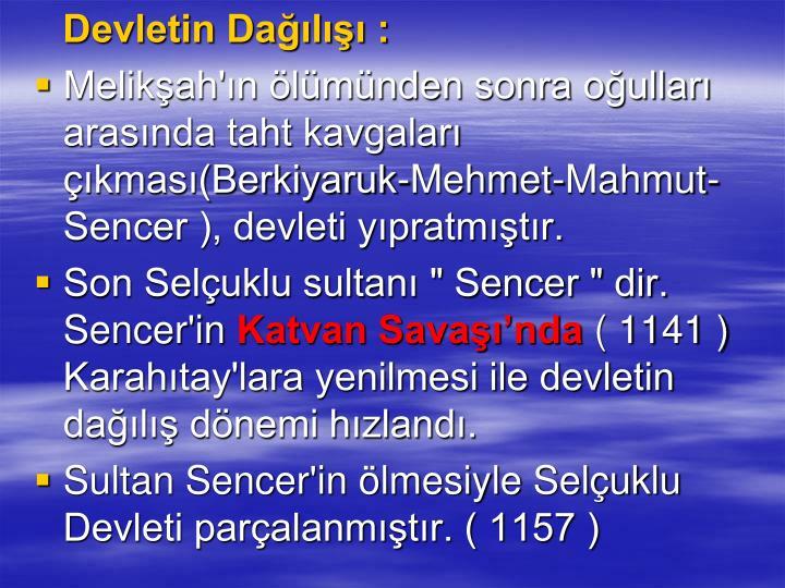 Devletin Dal :