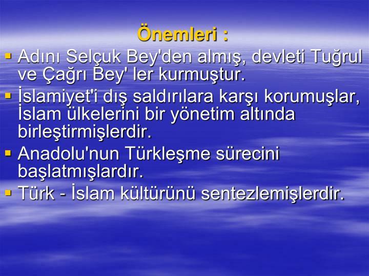 nemleri :