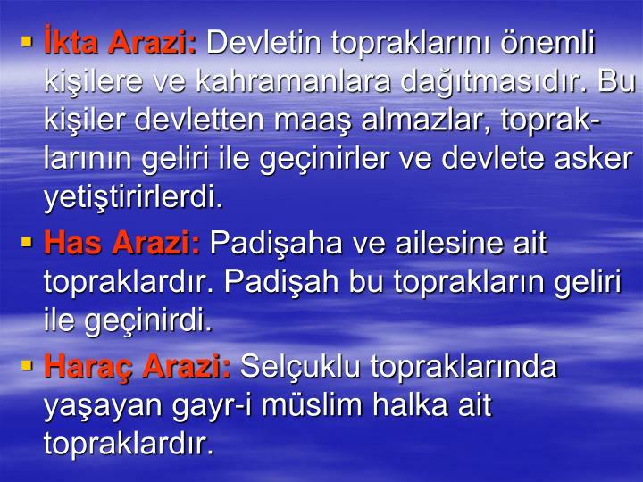 kta Arazi: