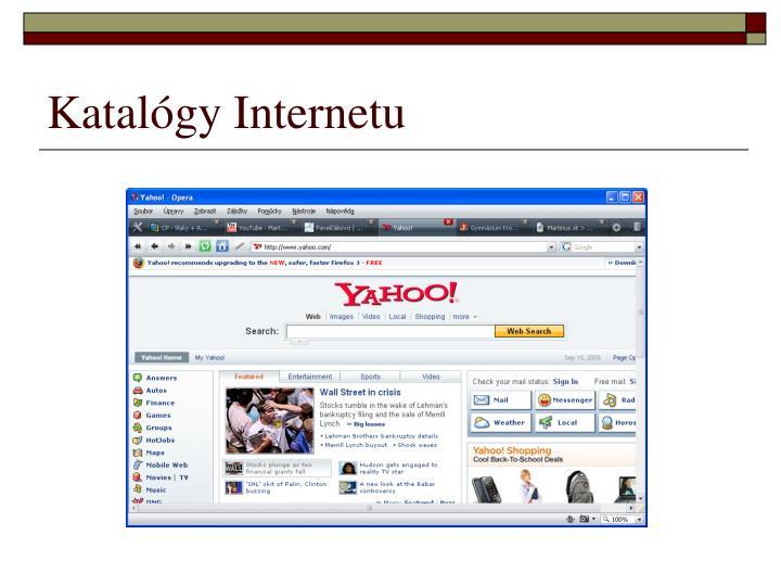 Katalógy Internetu