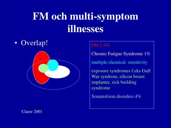 FM och multi-symptom