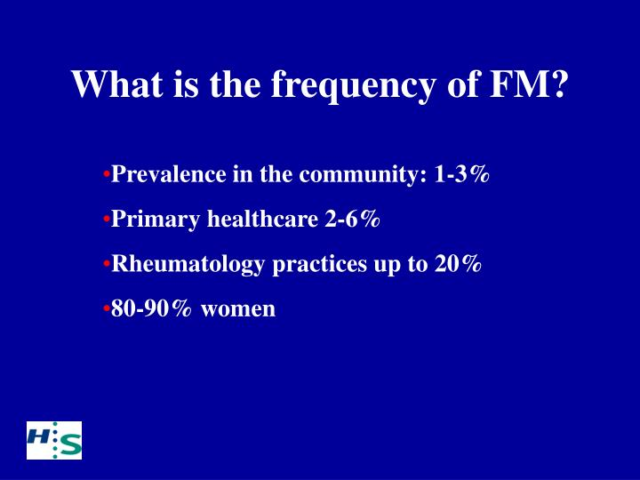 What is the frequency of FM?