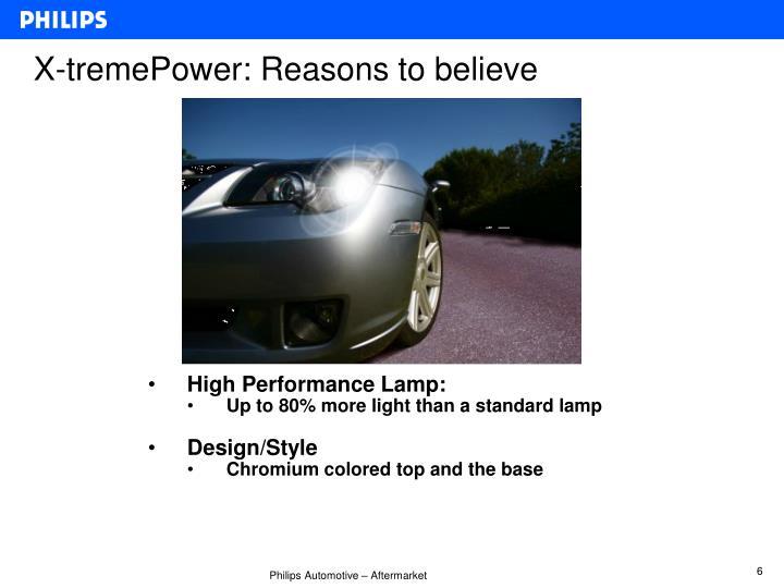 X-tremePower: