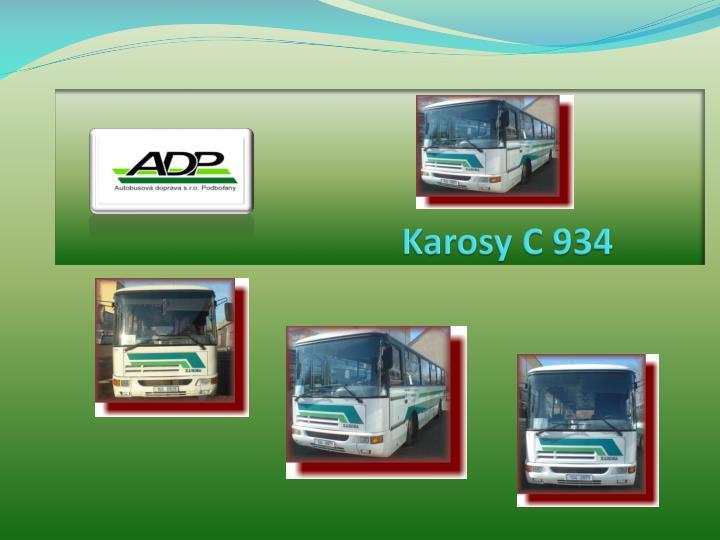 Karosy C 934