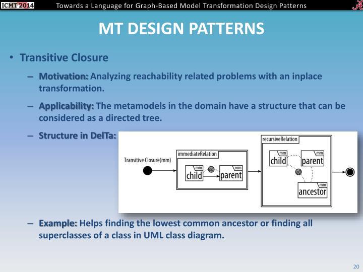 Mt design patterns