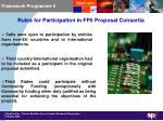 framework programme 5