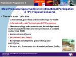 framework programme 61