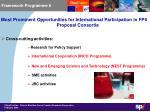 framework programme 62