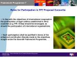 framework programme 72