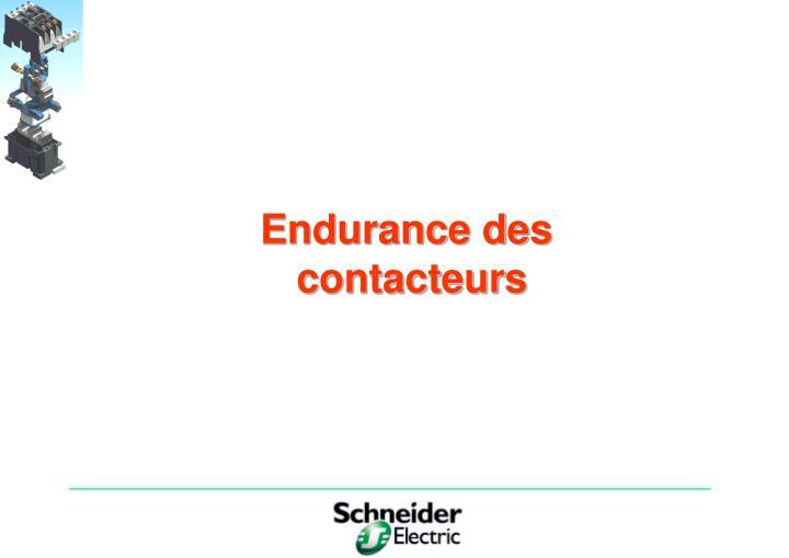 Endurance des