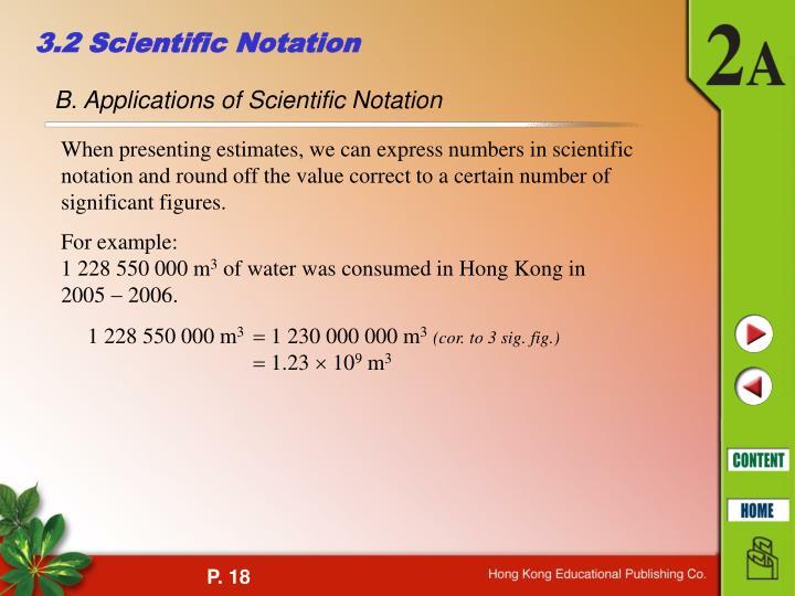 3.2 Scientific Notation