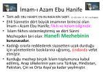 mam azam ebu hanife
