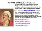 yunus emre 1238 1321