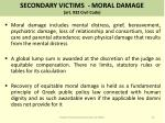 secondary victims moral damage art 932 civil code