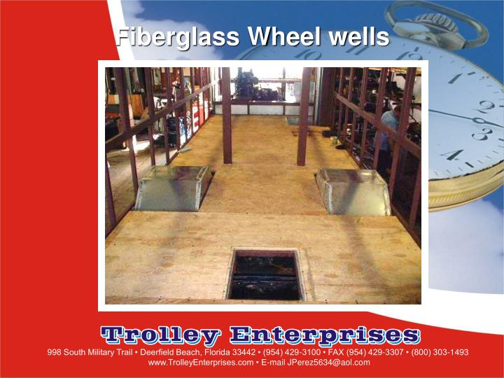 Fiberglass Wheel wells