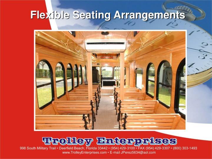 Flexible Seating Arrangements
